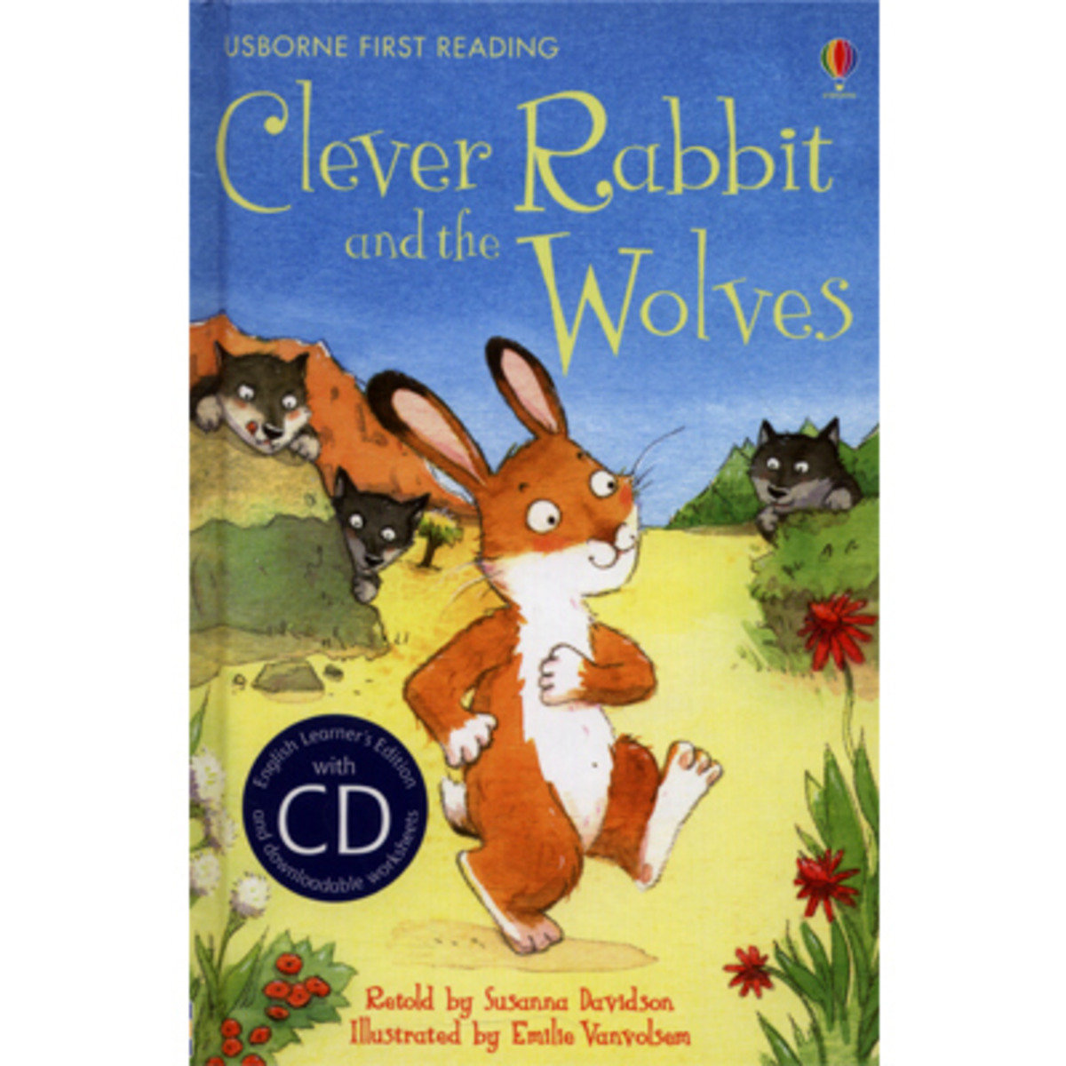 Clever Rabbit and the Wolves-First Reading 2 with CD