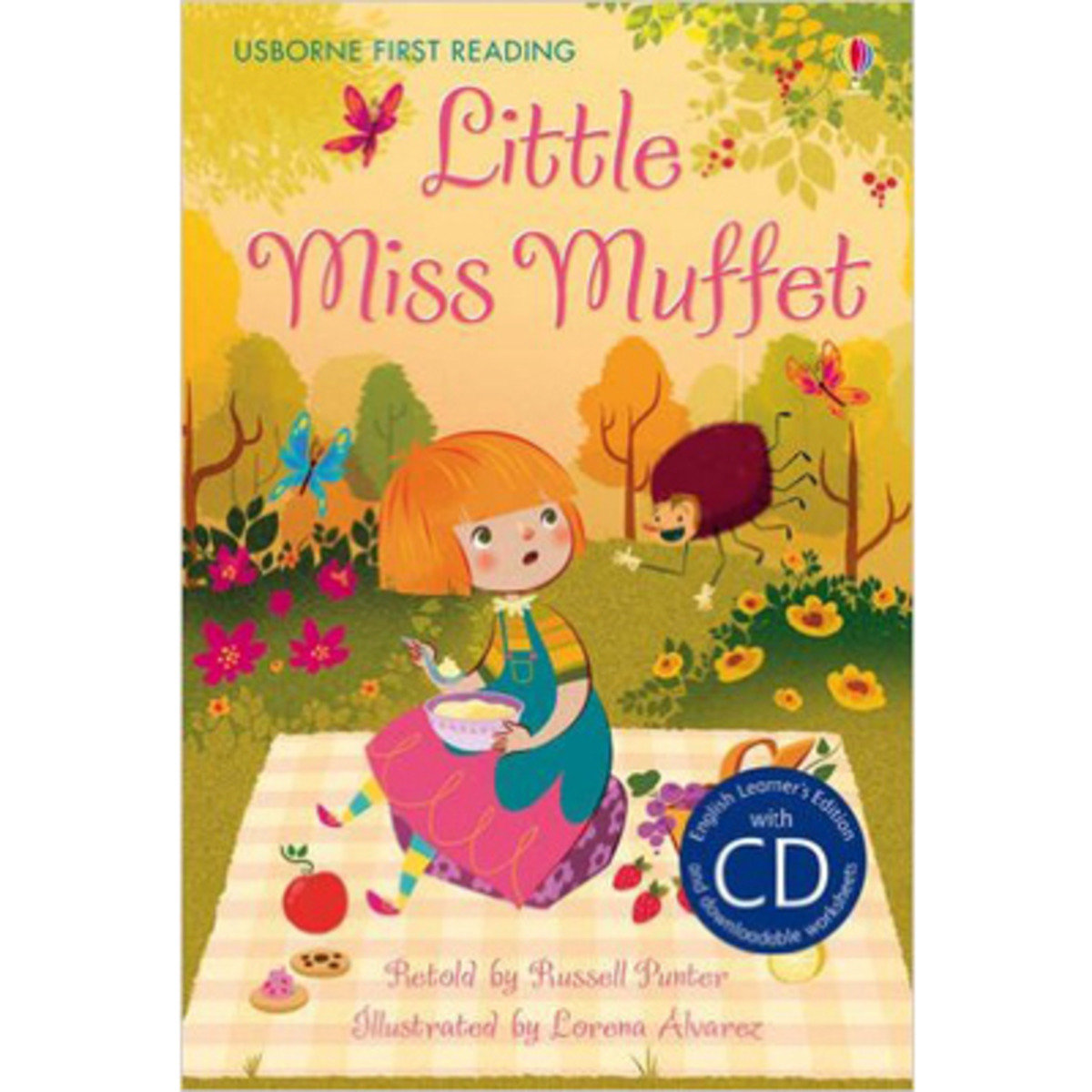 Little Miss Muffet-First Reading 2 with CD