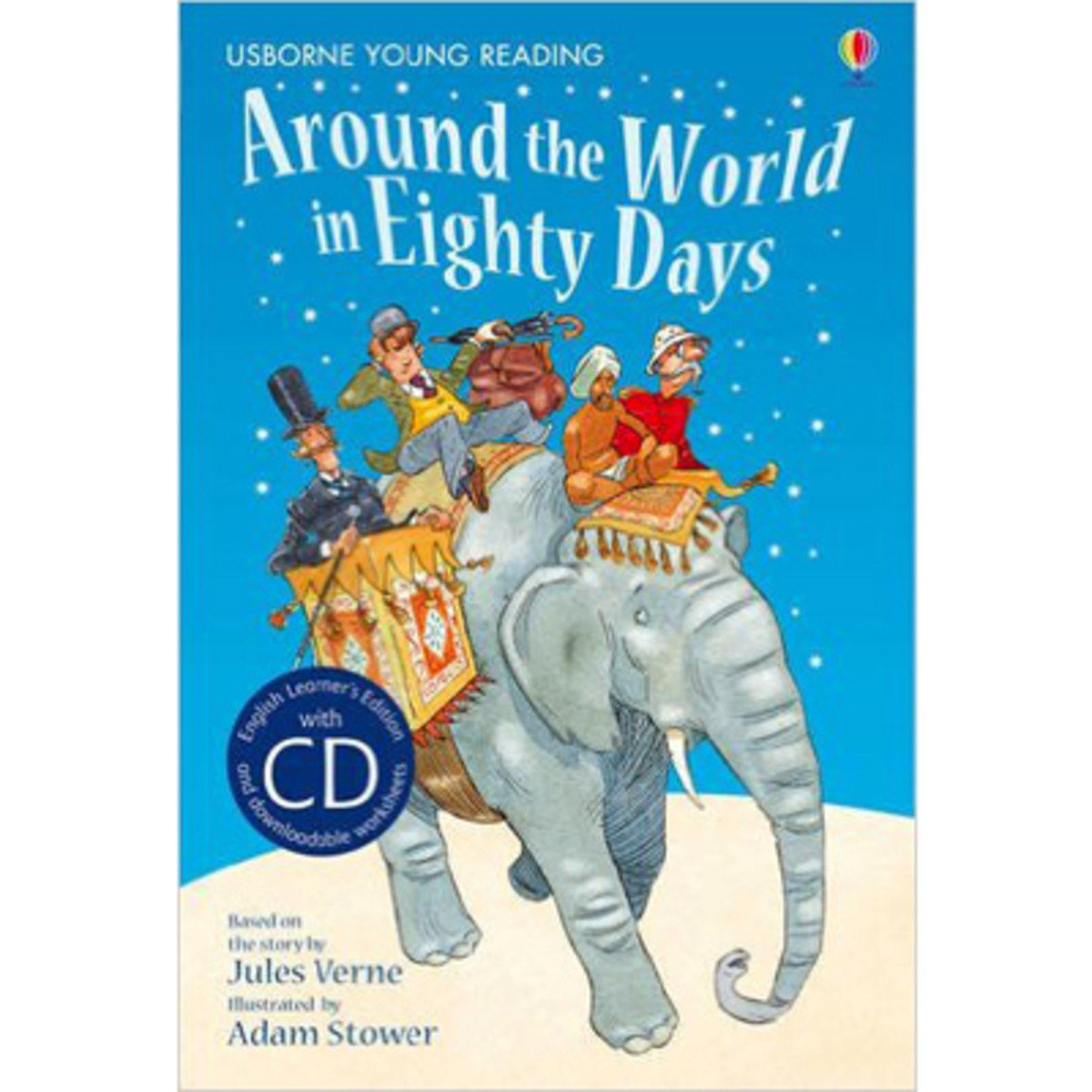 Around the World in Eighty Days-Young Reading 2 with CD