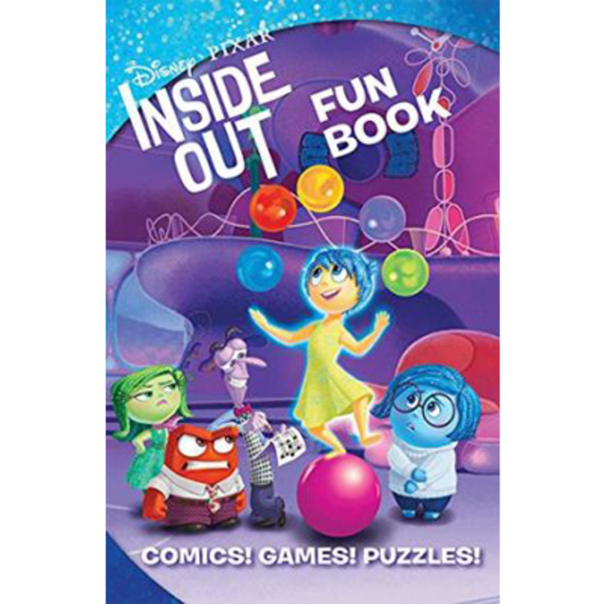 Disney*pixar's Inside Out Fun Book