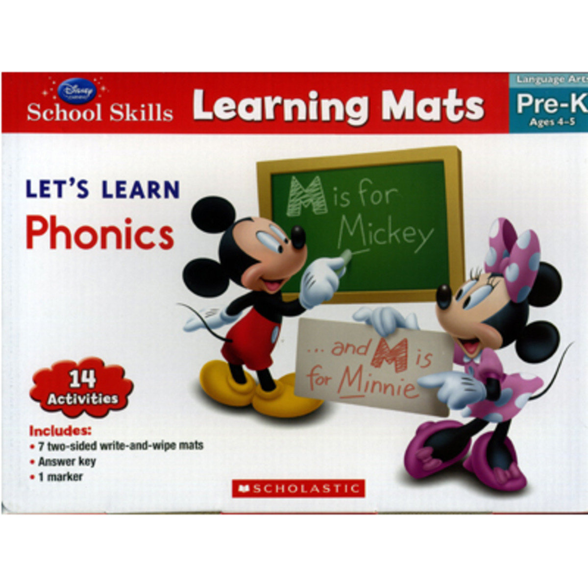 Disney Learning: Learning Mats - Let's Learn Phonics