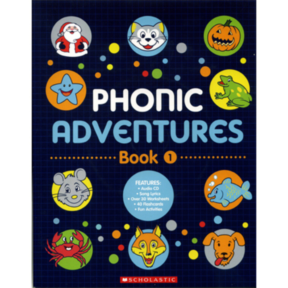 Phonic Adventures Book 1 (With Audio CD)