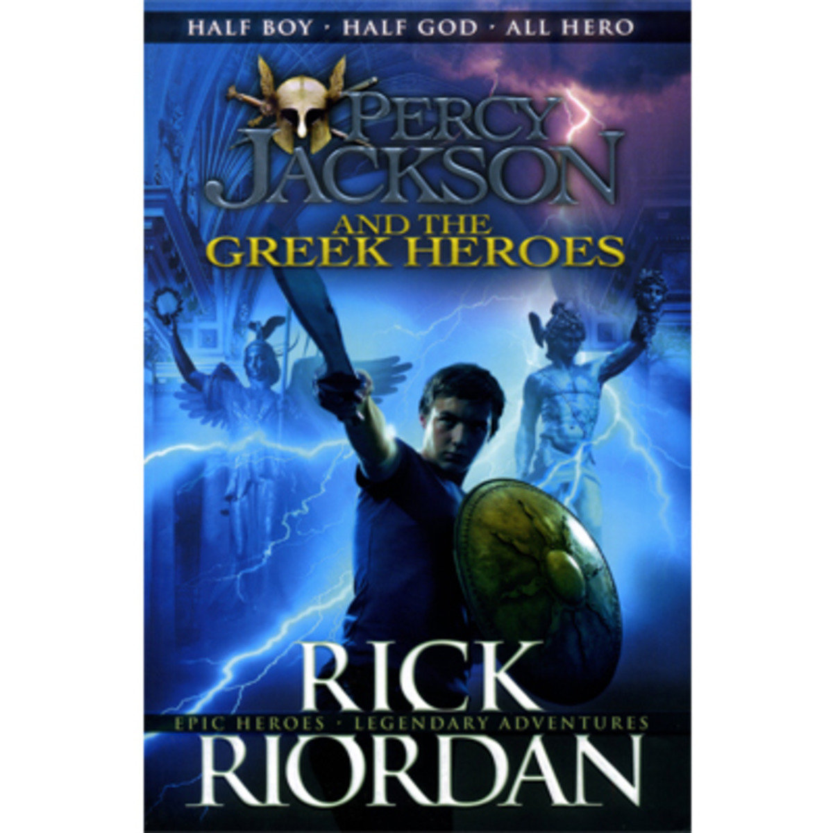 Percy Jackson and the Greek Heroes #7 9780141360515