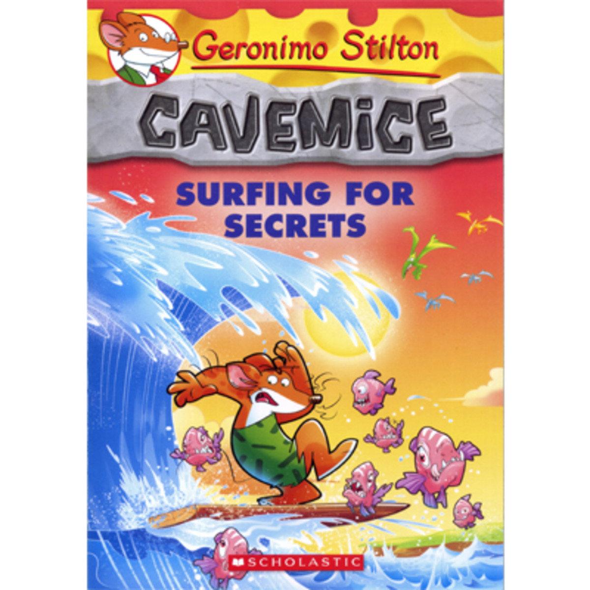Geronimo Stilton Cavemice #8: Surfing for Secrets 9780545746175