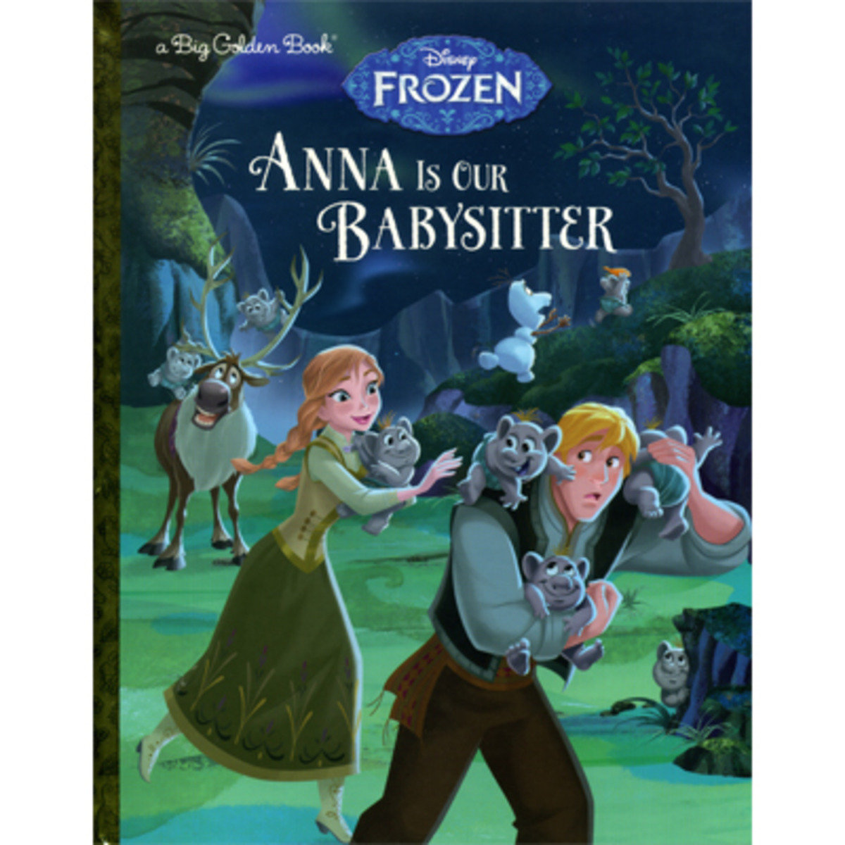 Anna Is Our Babysitter (Disney Frozen) 9780736434058