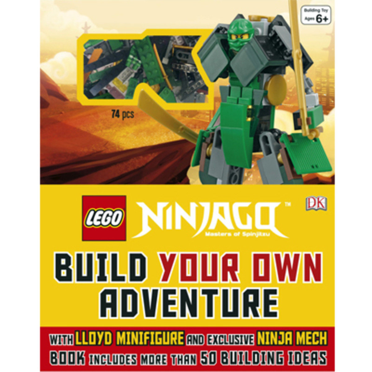 Lego Ninjago: Build Your Own Adventure 9781465435903
