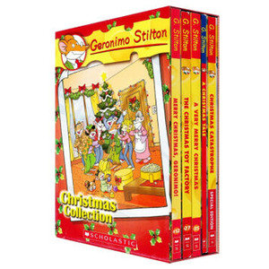 (贈品) Geronimo Stilton Christmas Box Set 9780545459587