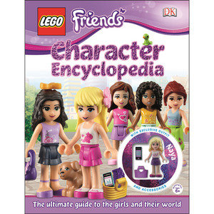 (GIFT) LEGO Friends Character Encyclopedia