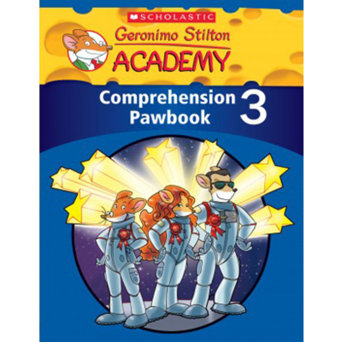 Geronimo Stilton Academy: Comprehension Pawbook Level 3 9789814629652