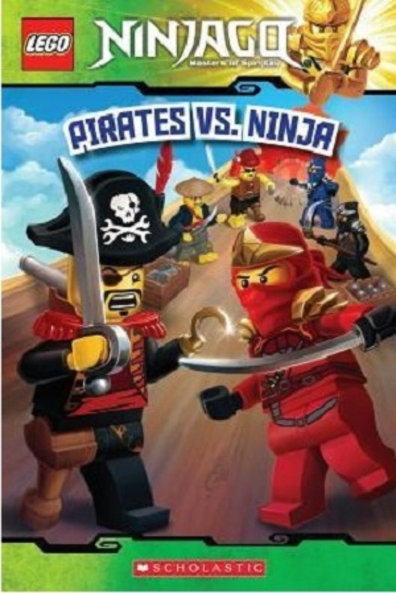 Pirates vs. Ninja  (LEGO Ninjago: Masters of Spinjitzu) 9780545608008