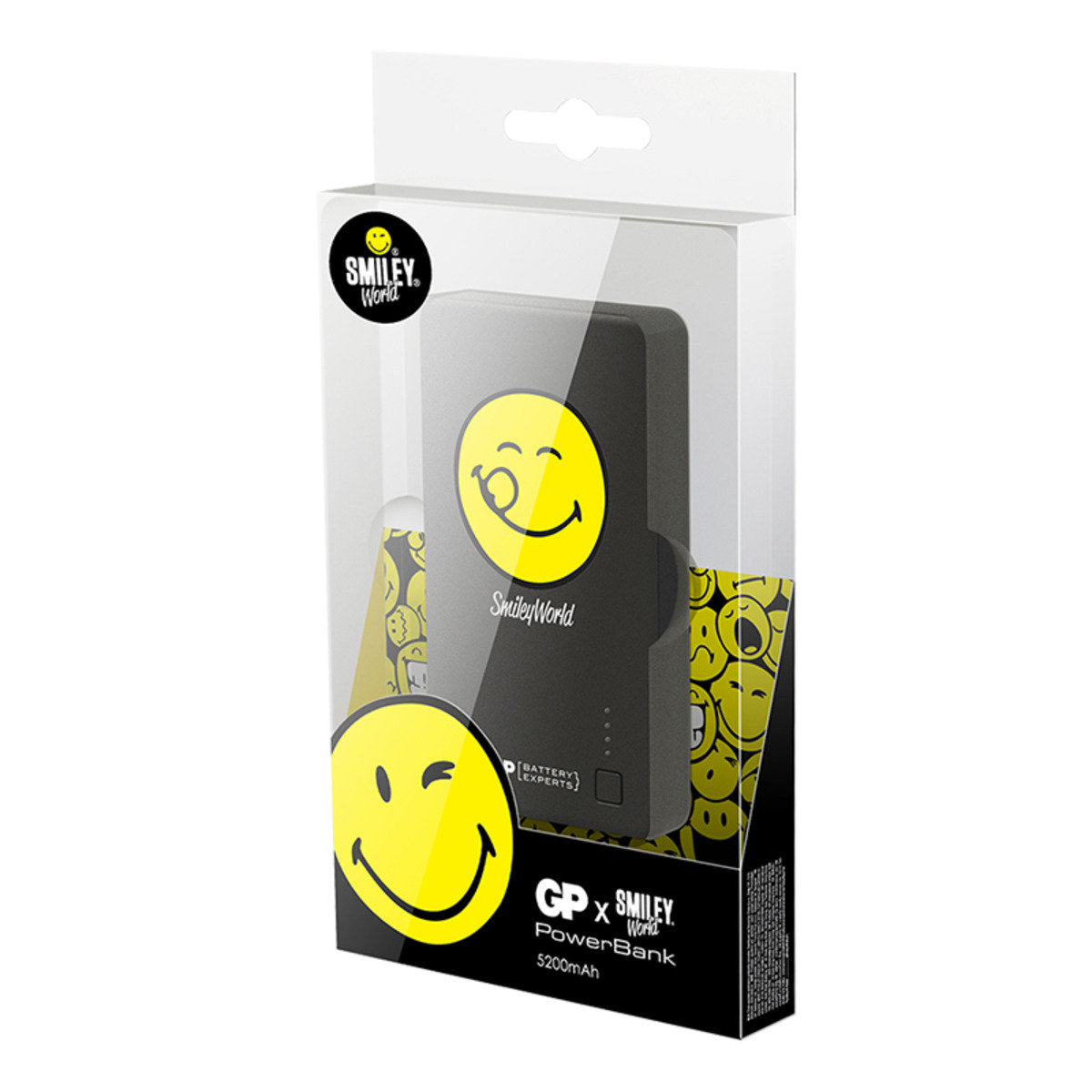 Smiley® x GP特別版 儲電寶 352PB 5200mAh - Yummy Face