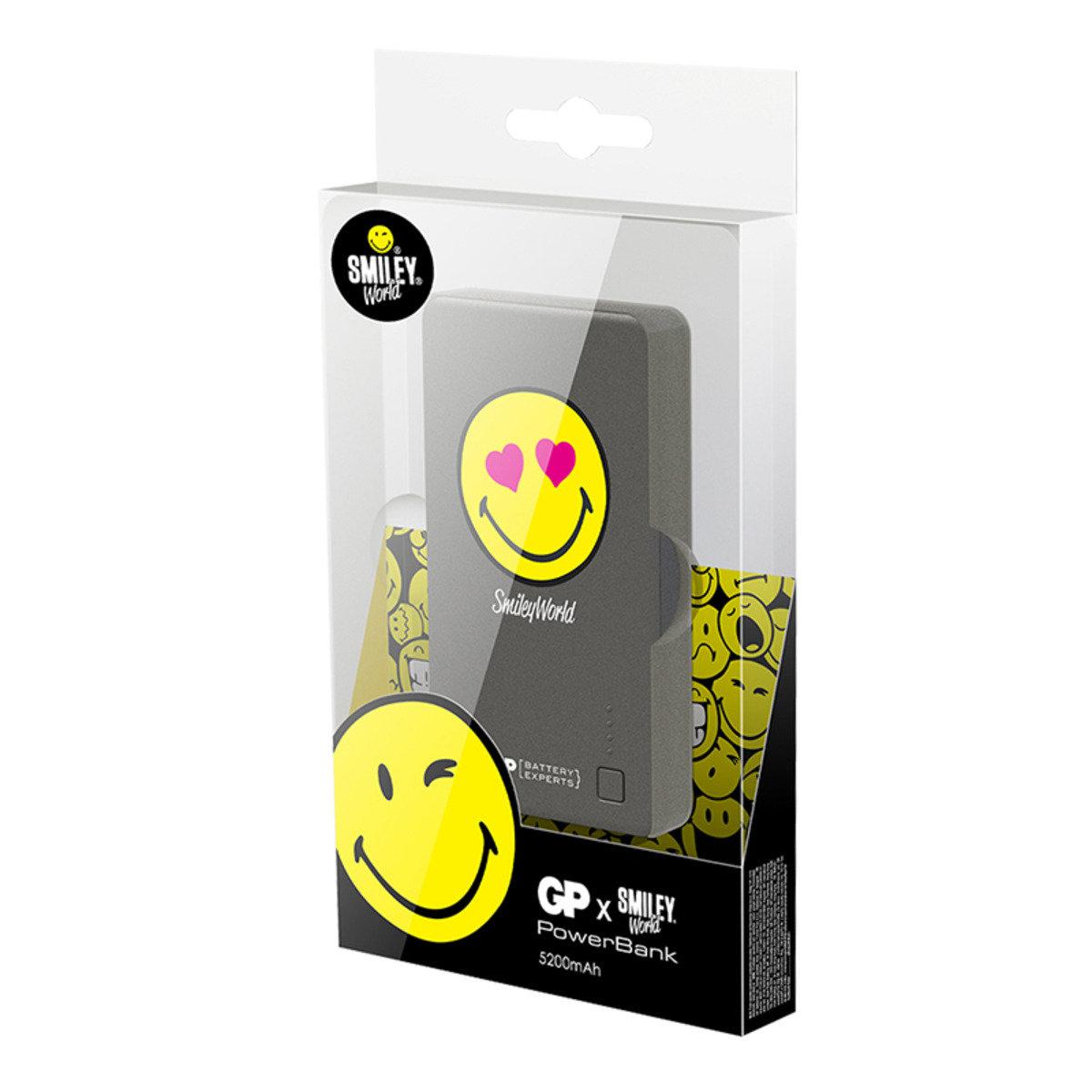 Smiley® x GP特別版 儲電寶 352PB 5200mAh - Heart Eye