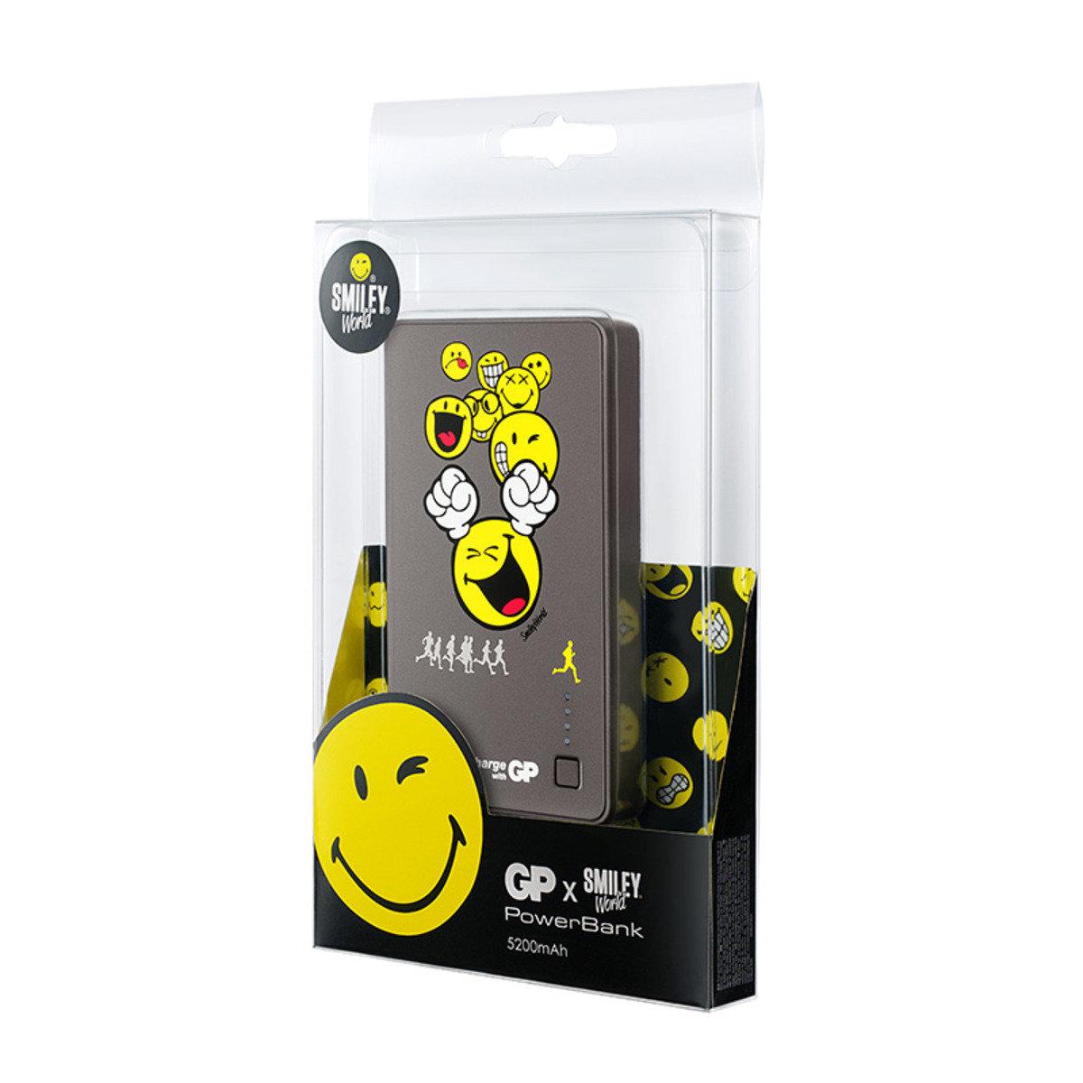 Smiley® x GP特別版 儲電寶 352PB 5200mAh - Sport Running