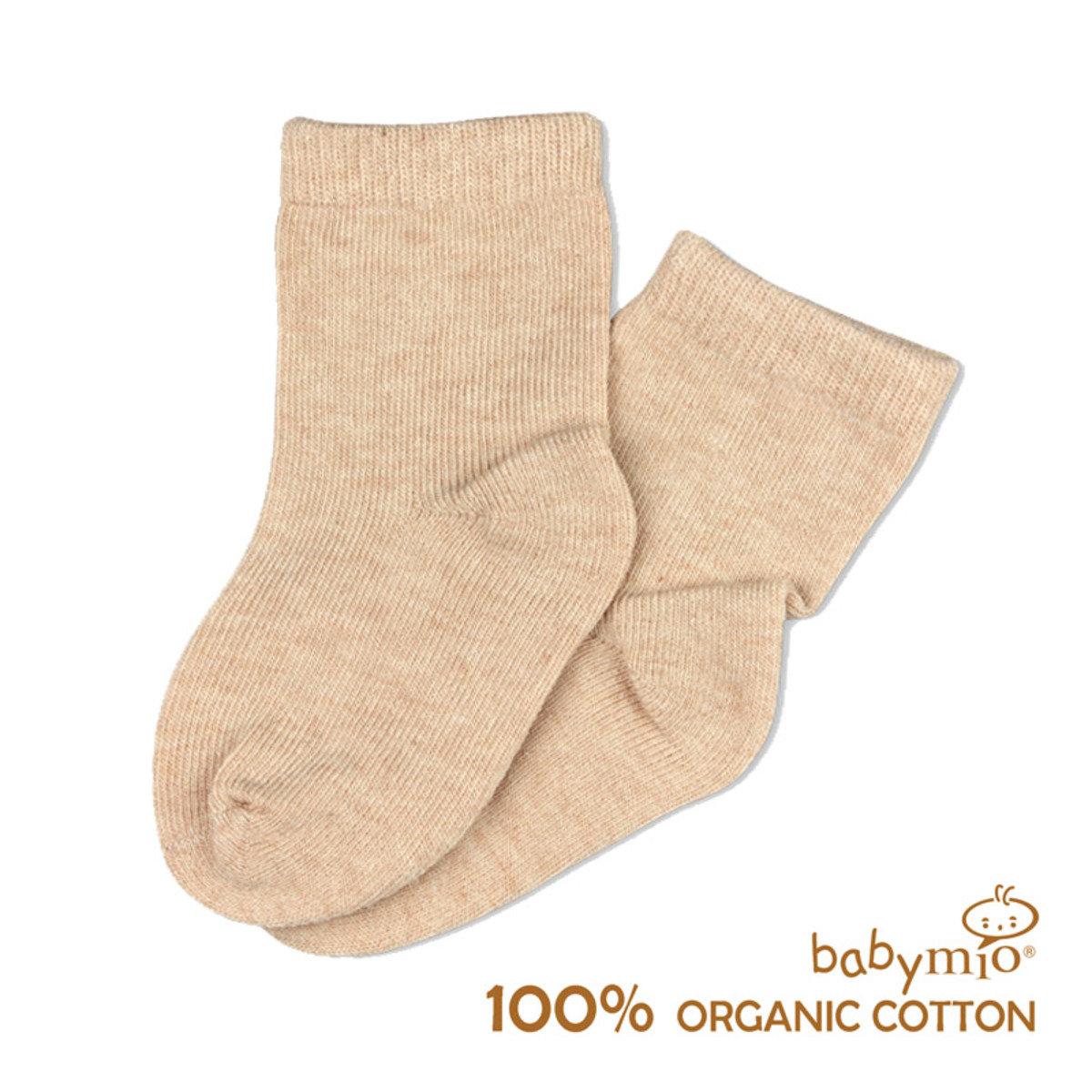 羊羊有機棉嬰兒小襪子