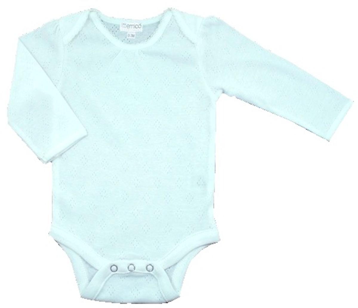 有機棉長袖夾衣 (0-3M)