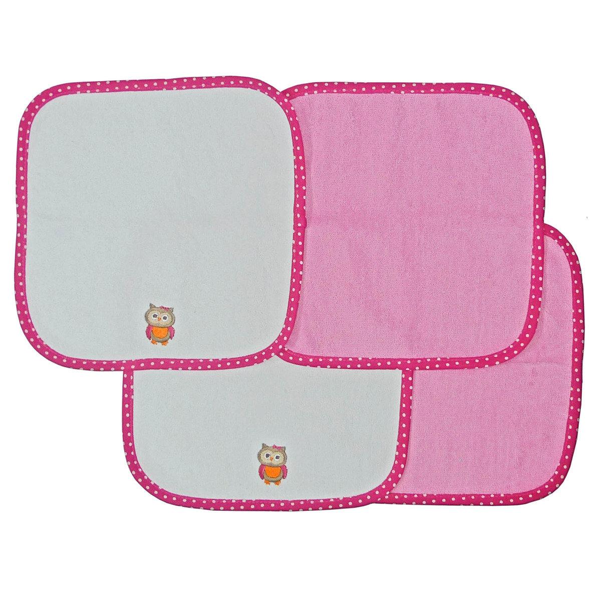 貓頭鷹小浴巾 (4條裝)