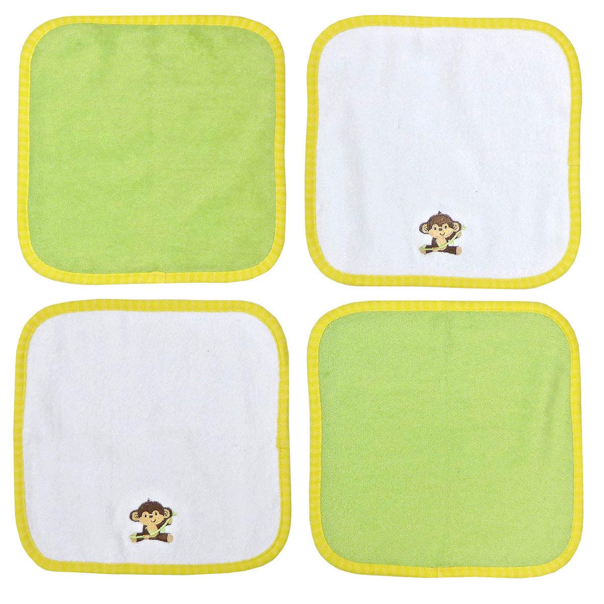 小猴子小浴巾 (4條裝)