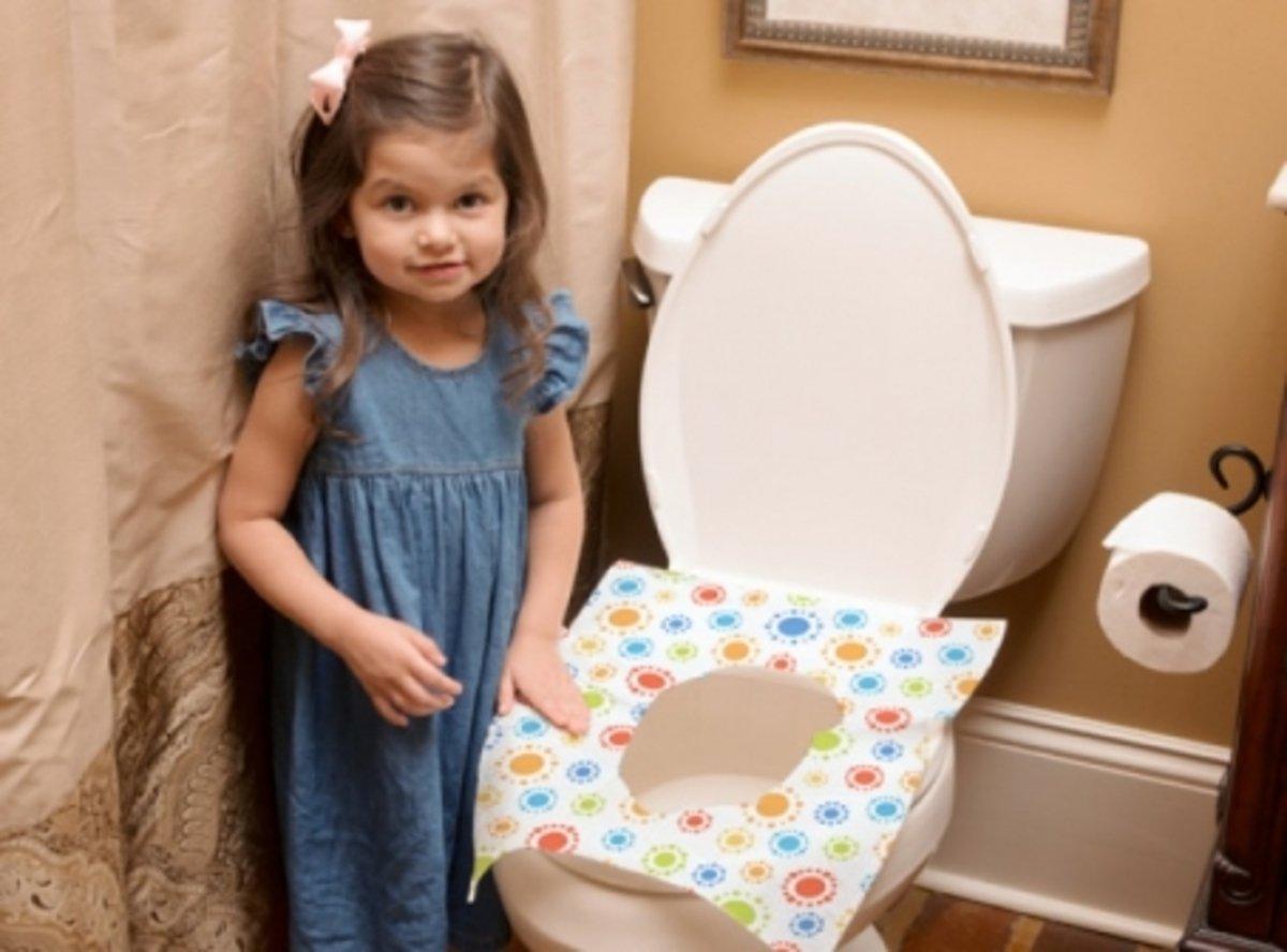 即棄式三層廁板墊 - 10片裝