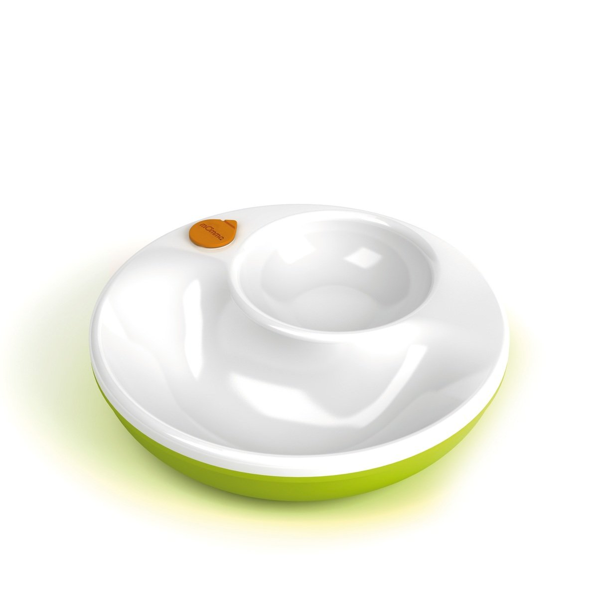 兩格保溫碗 - 綠色