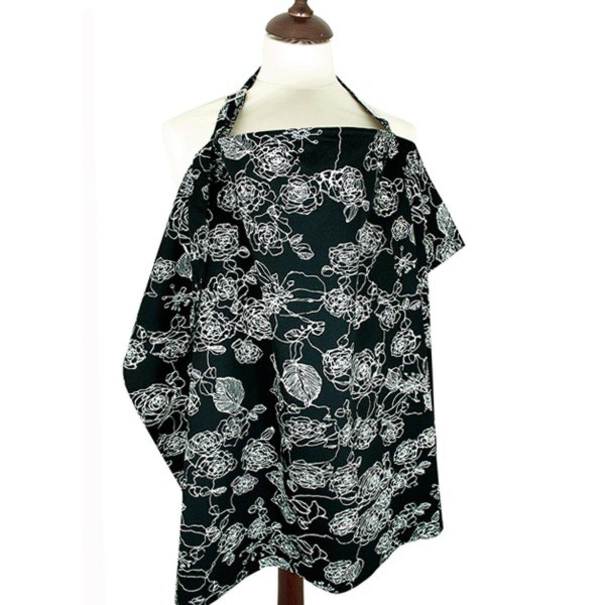 印花哺乳巾