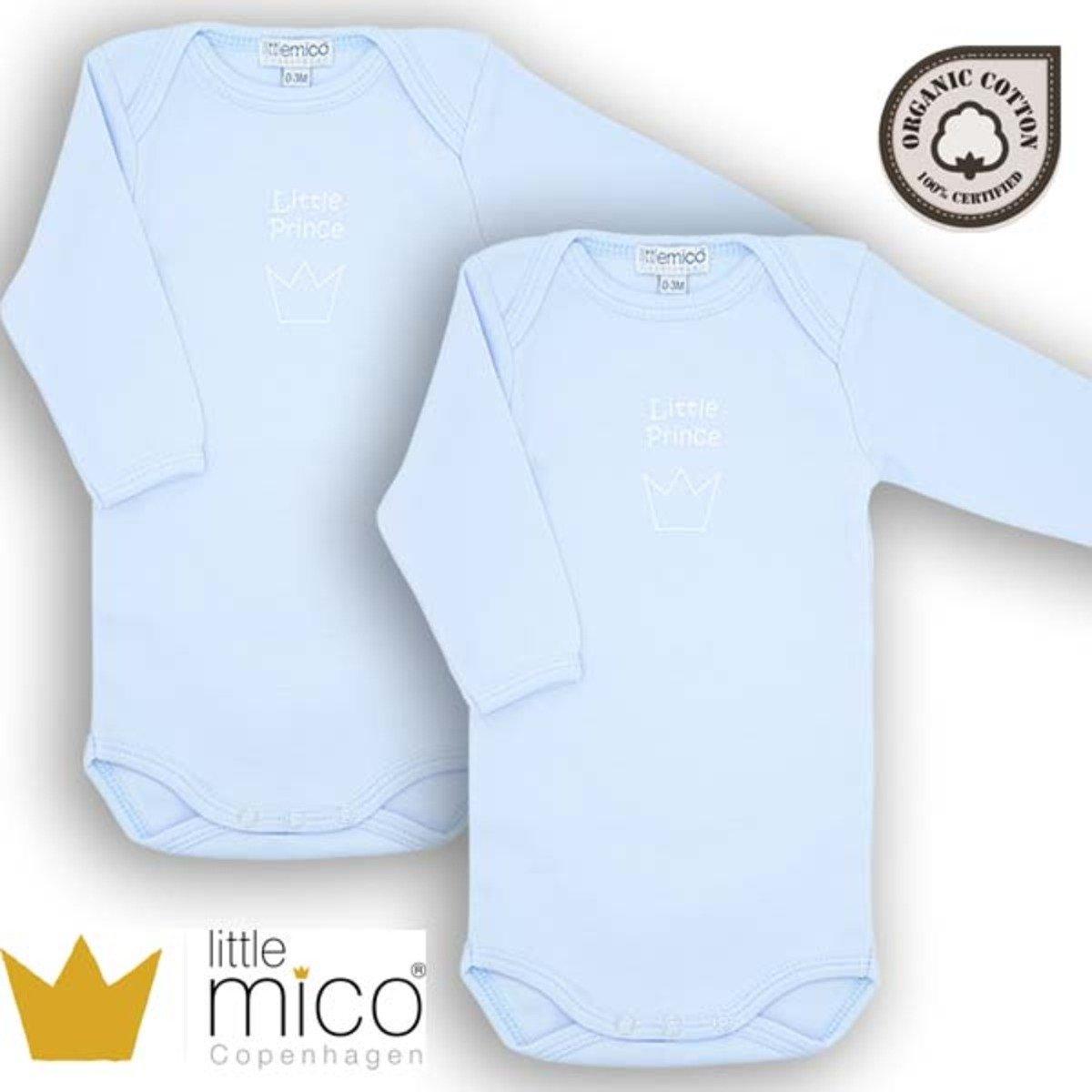 有機棉長袖夾衣 - 小王子 - 2件裝