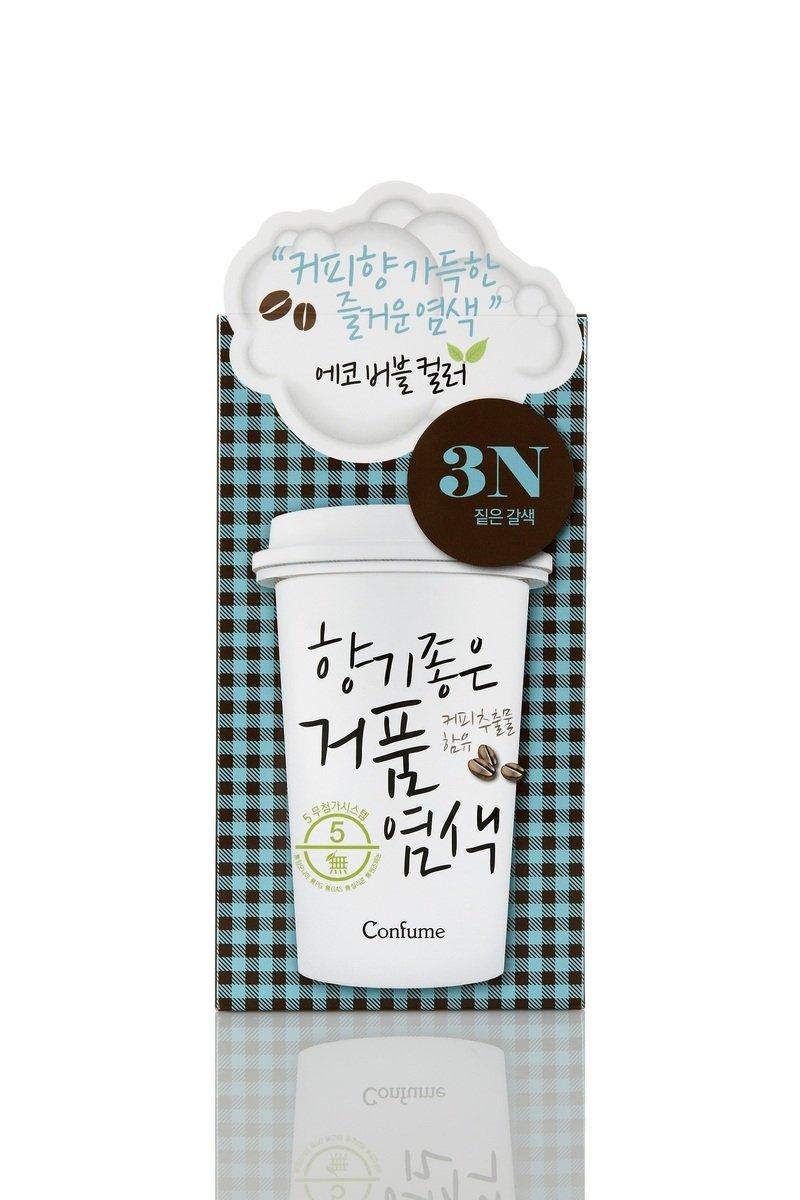 咖啡香氣泡沫染髮 3N 深啡色 (最佳使用期:2017年4月3日)