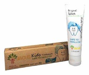JACUS 嬰幼兒牙膏-原味-雲呢拿(50g)
