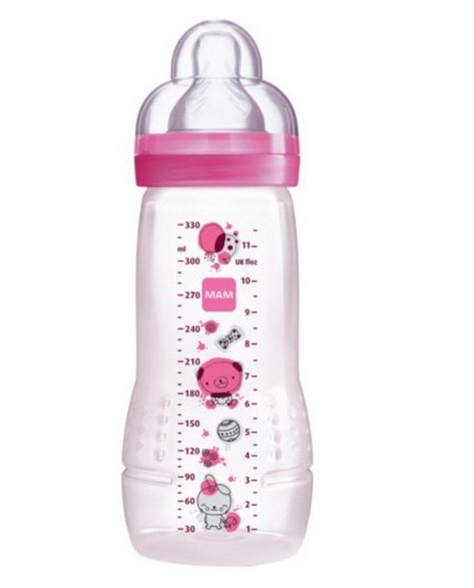 好易喝奶瓶330ml-粉紅