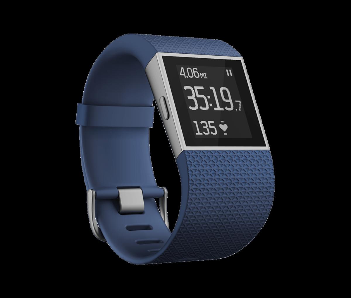 Fitbit Surge, Blue Large