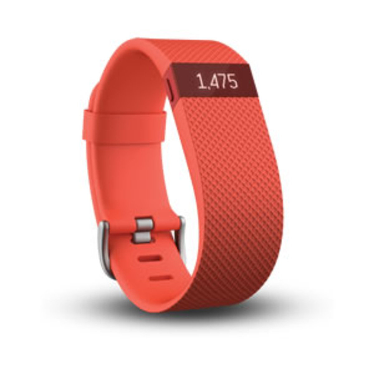 Fitbit Charge HR, Tangerine Large