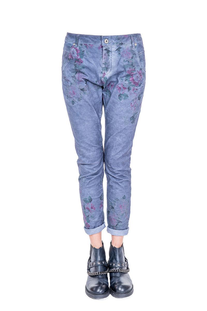花卉圖案長褲