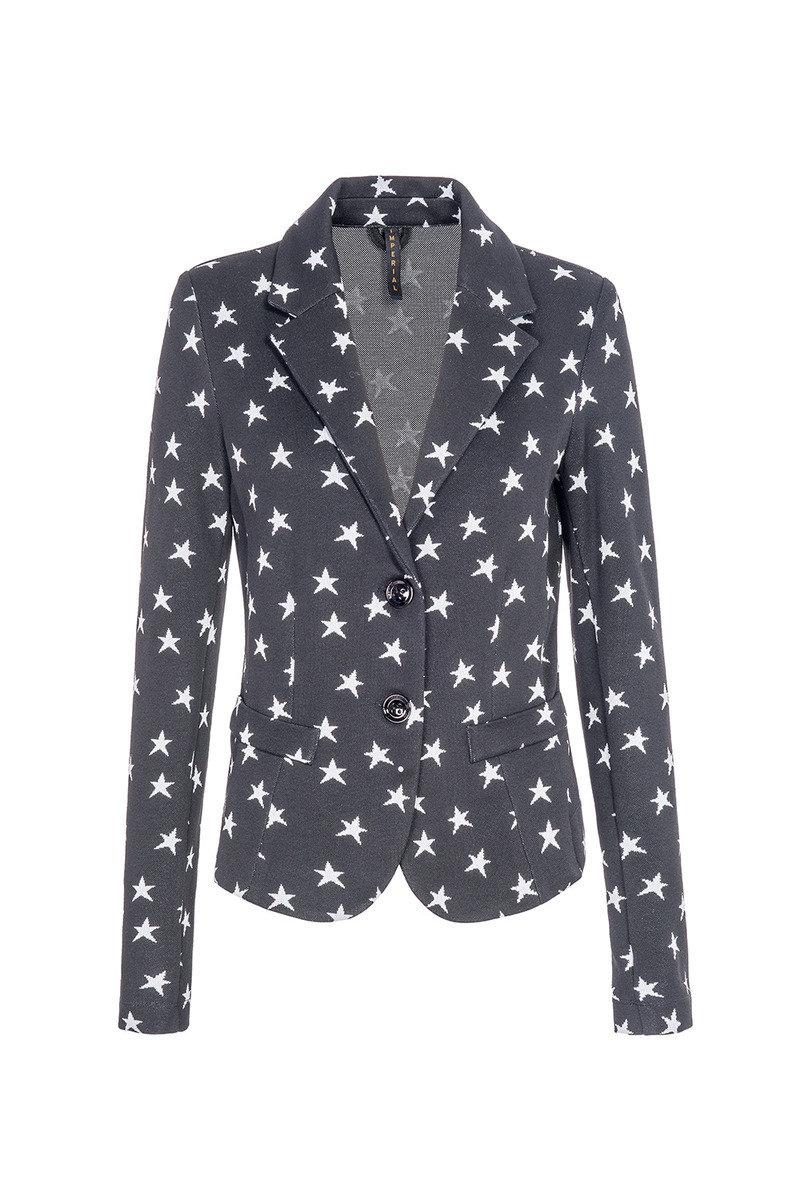 星型圖案外套
