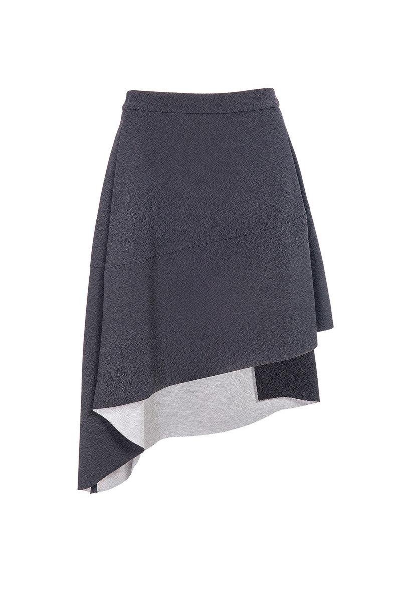 前短後長半裙