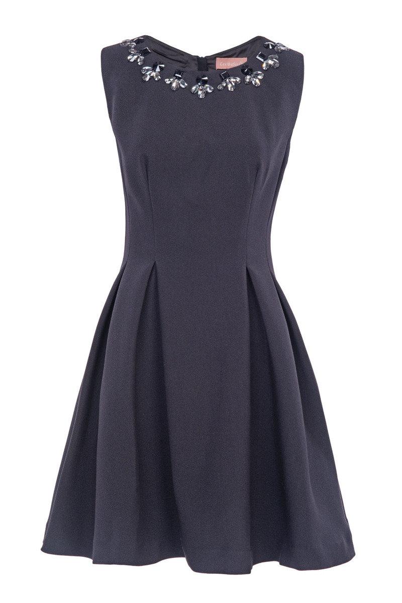 釘石連衣裙