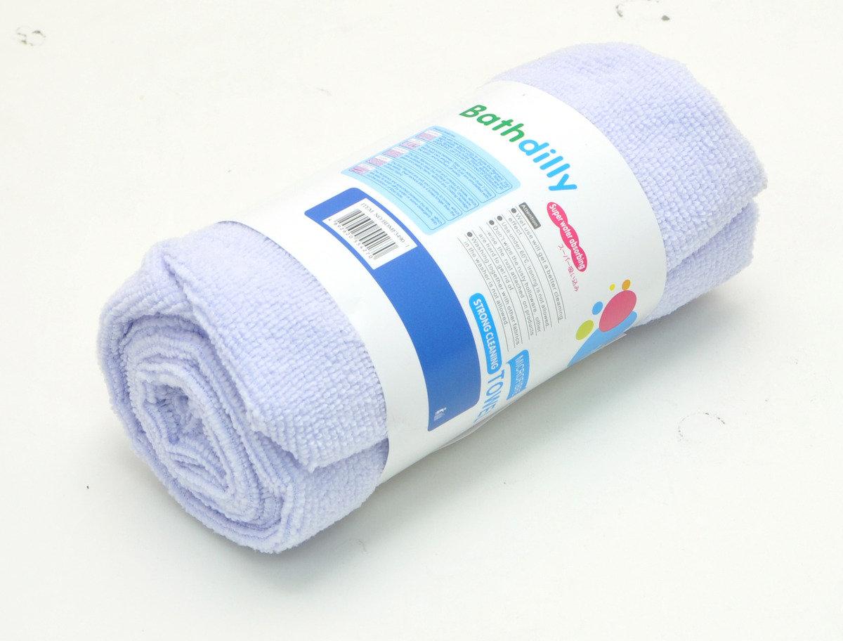 強力吸水頭巾34X90CM (淺粉紅/粉綠/粉紫)