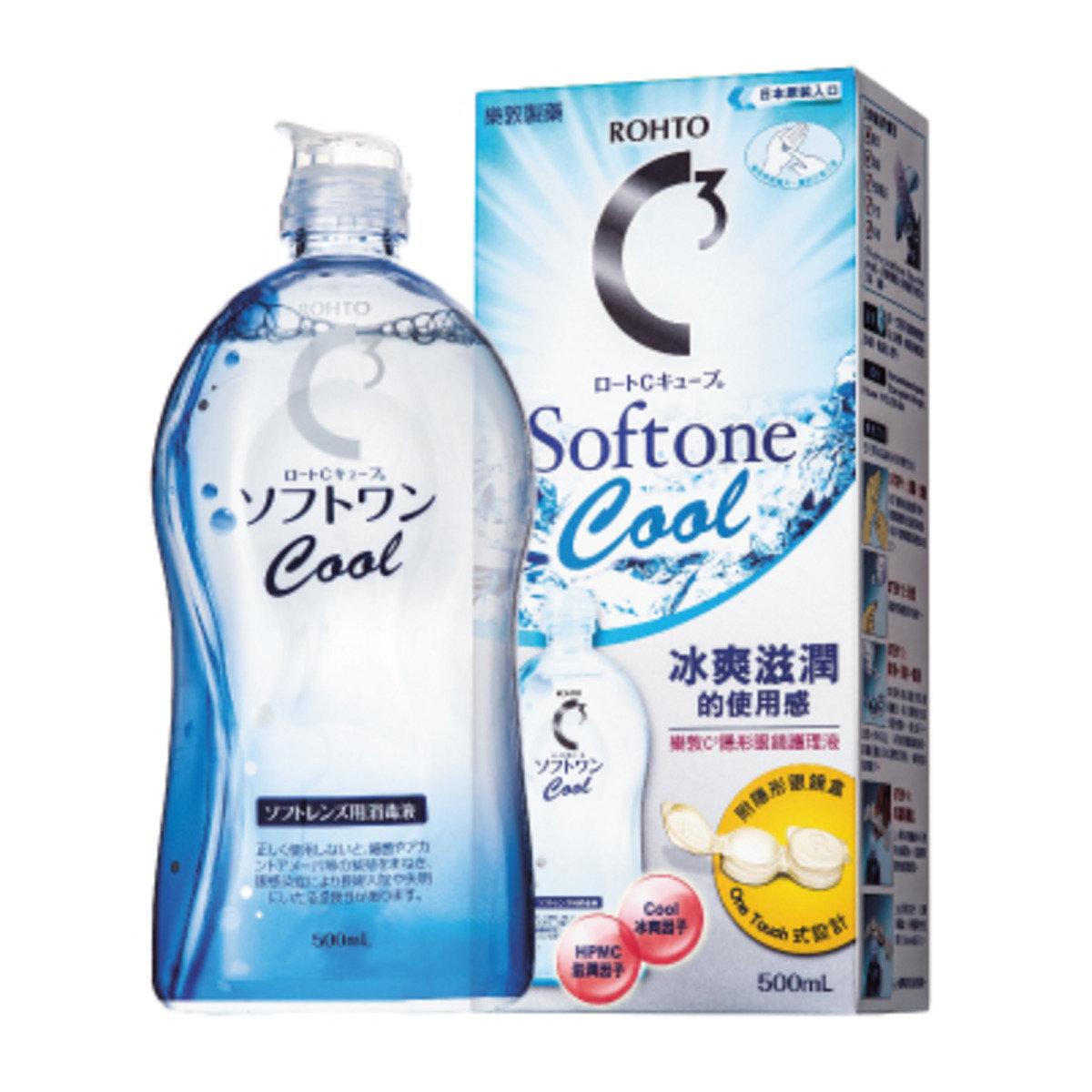 樂敦 C3 Softone Cool 隱形眼鏡護理液