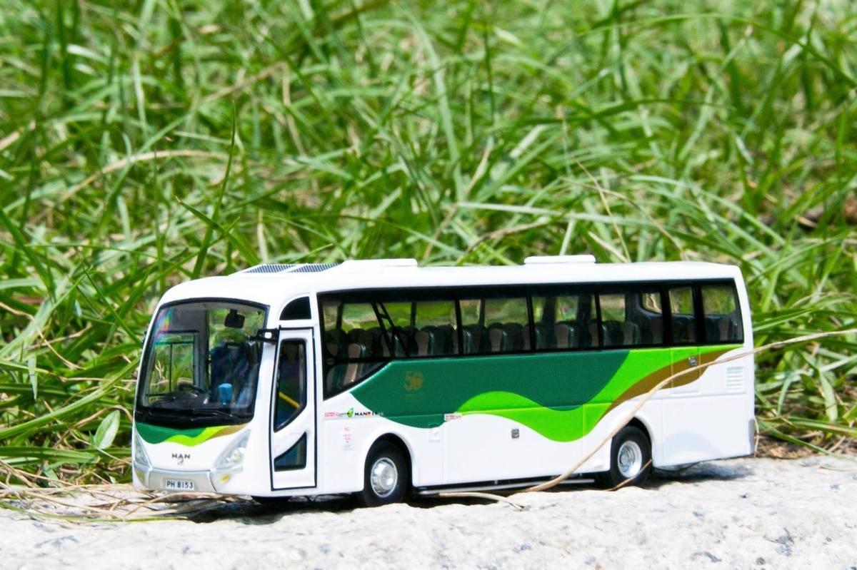 1/76 冠忠巴士 MAN A91 猛獅 50周年 金禧別注版