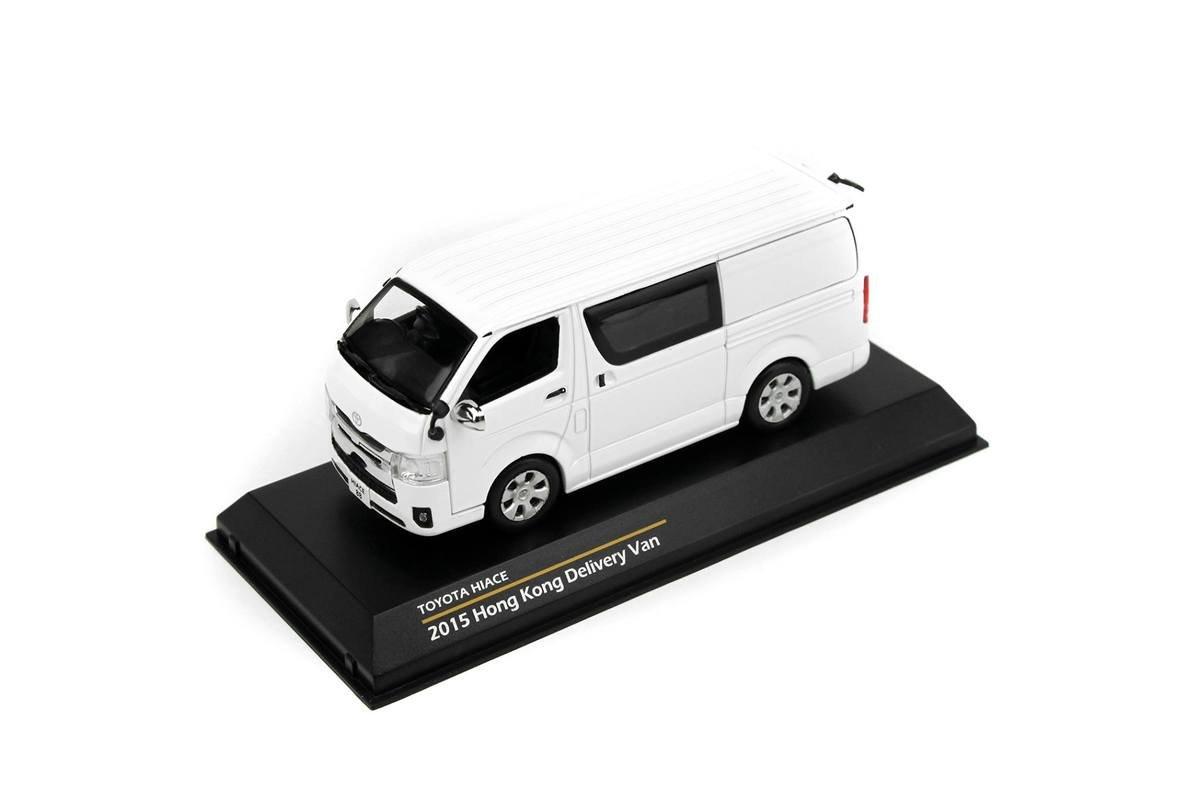 1/43 Toyota Hiace Van - 白色