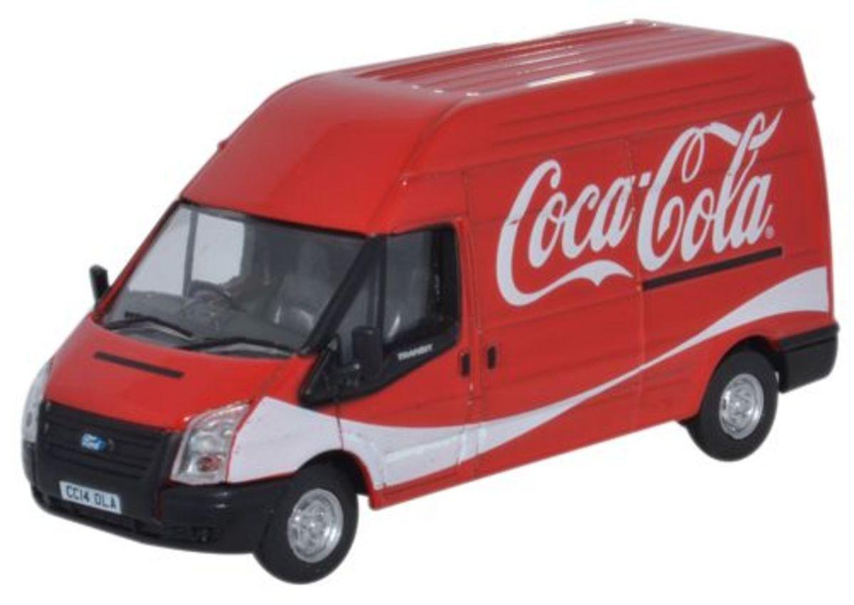 1/76 Ford Transit 可樂車 Coca-Cola