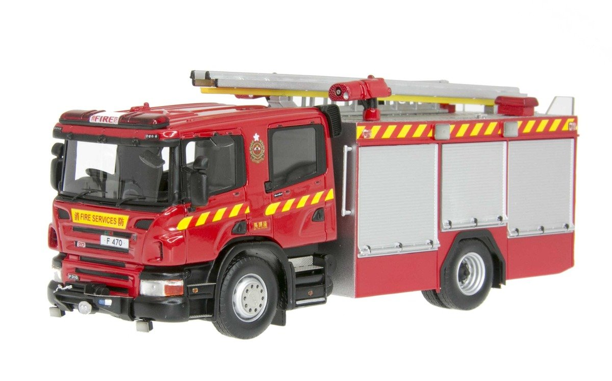 1/50 Scania P310 Major Pump 消防泵車