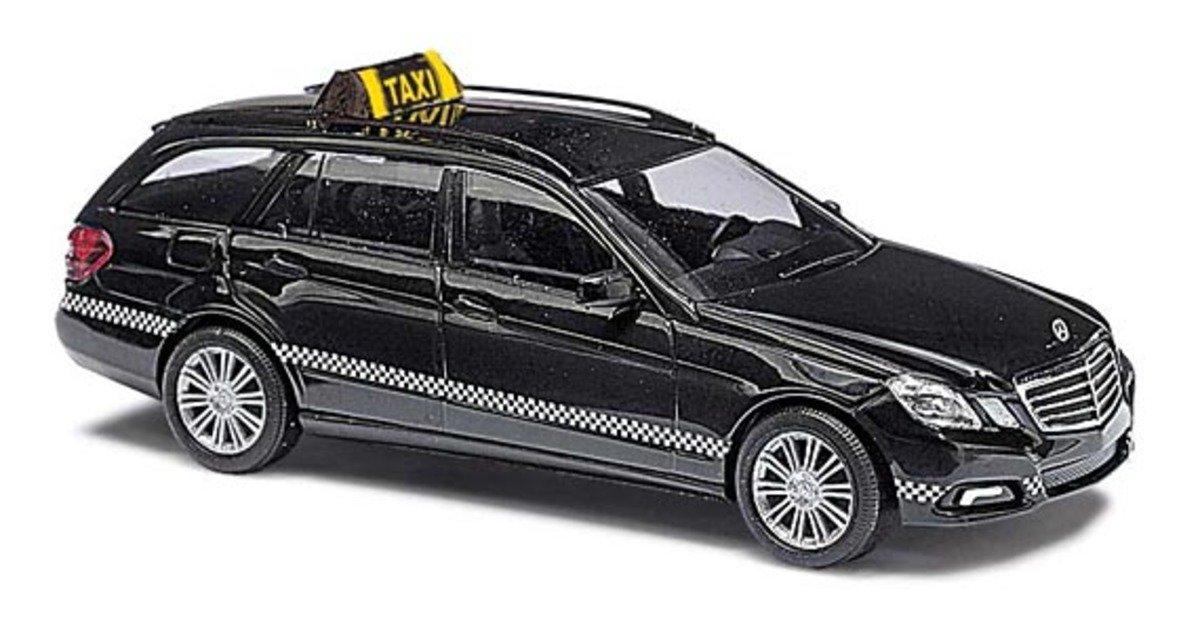 1/87 Mercedes-Benz E-Class Taxi Black