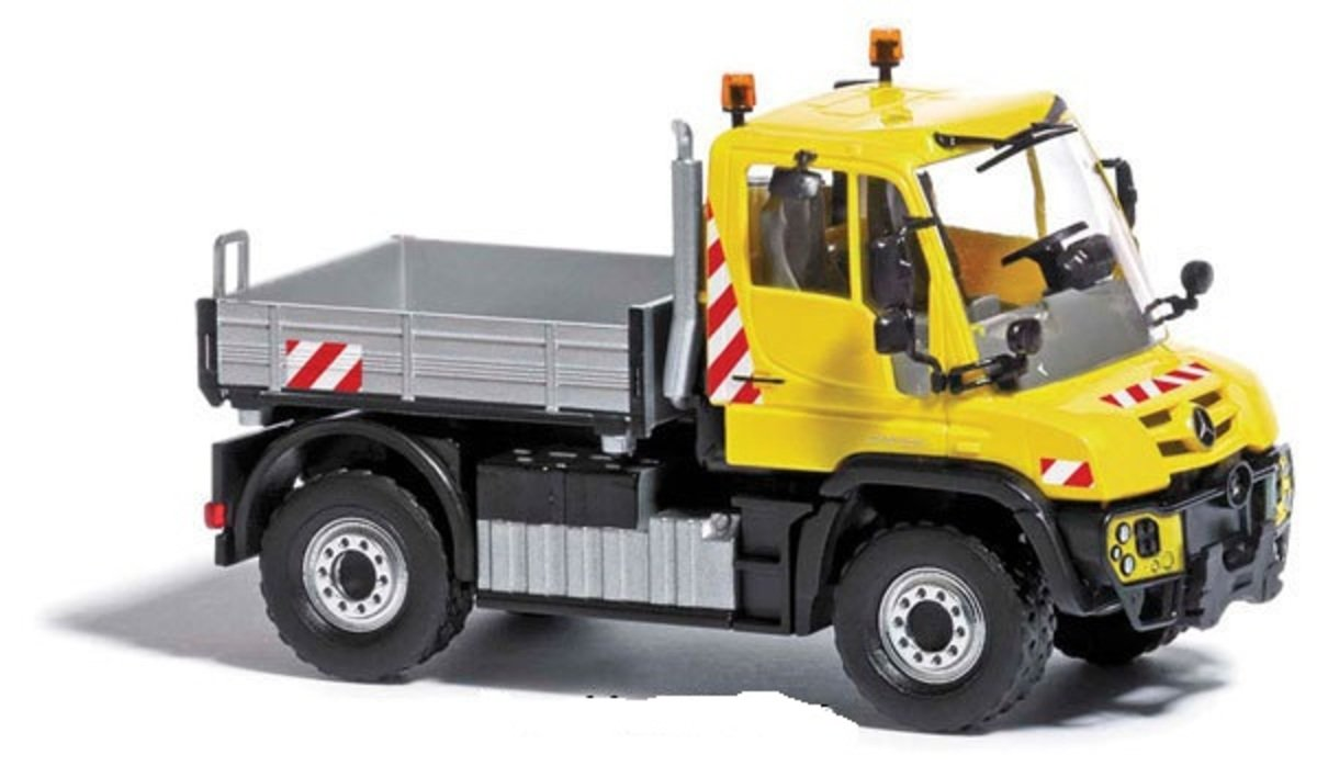 1/87 Mercedes-Benz Unimog U430 Yellow