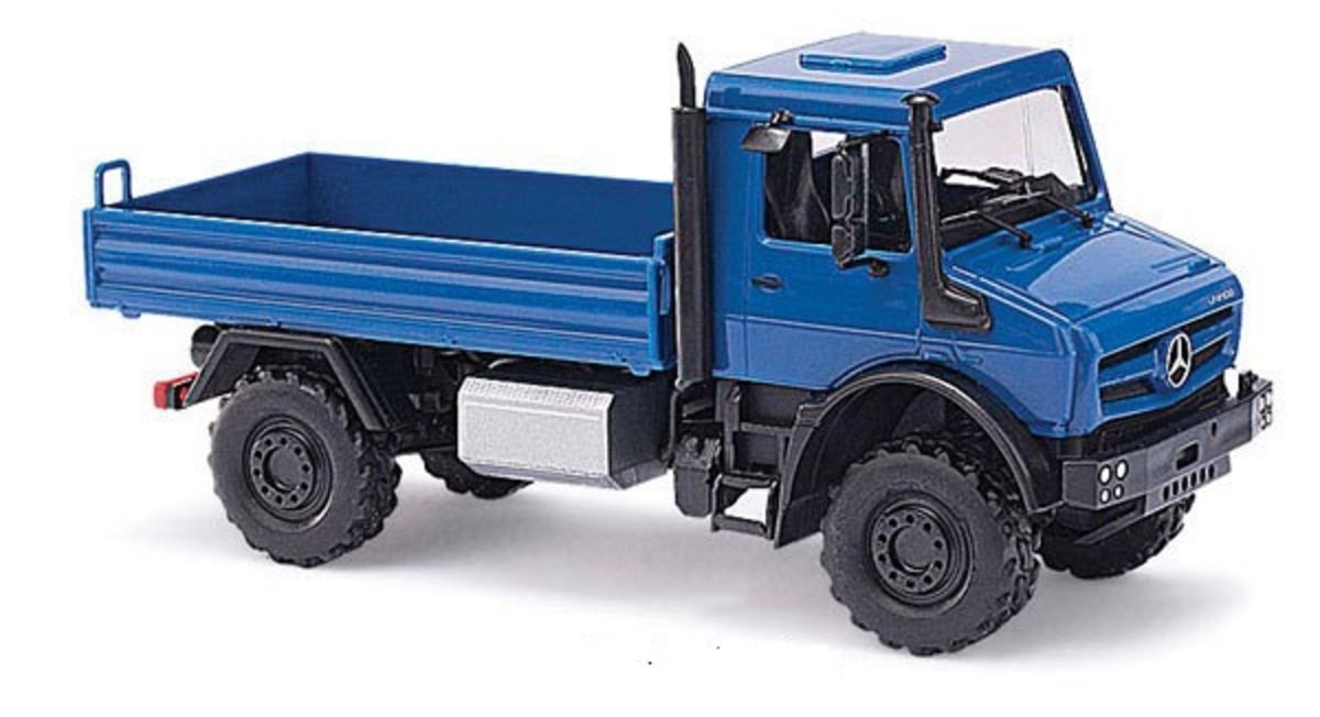 1/87 Mercedes-Benz Unimog U5023 Blue