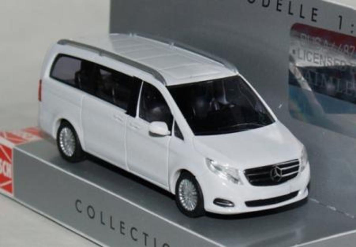 1/87 Mercedes-Benz V-Class White