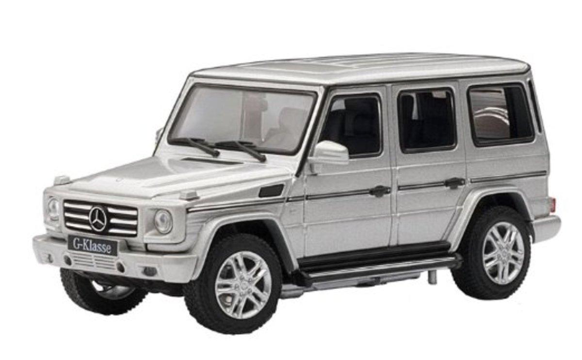 1/43 Mercedes-Benz G500 2012 (Silver)