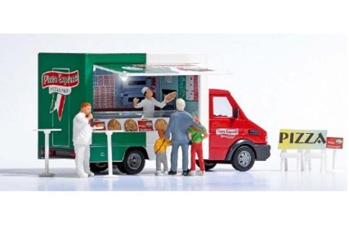 1/87 Iveco Plaza Sales Van