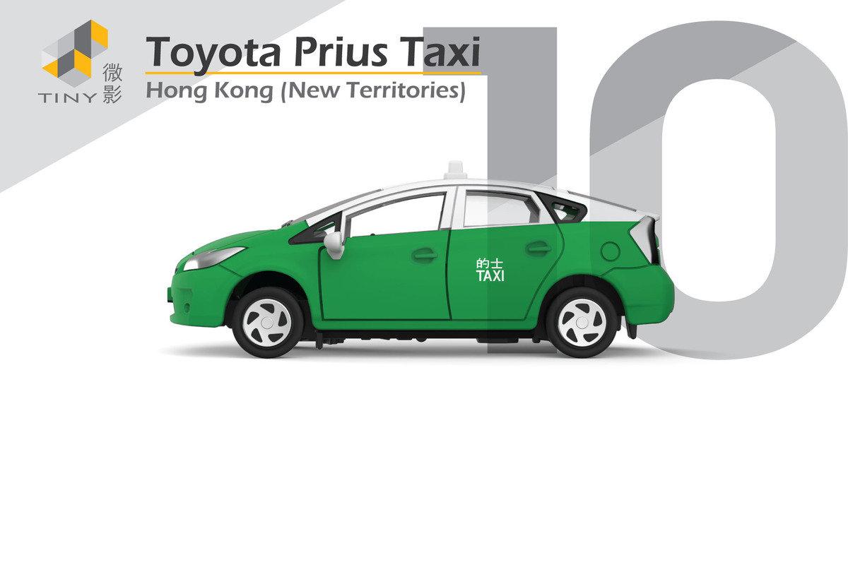10 Toyota Prius Taxi (Green)