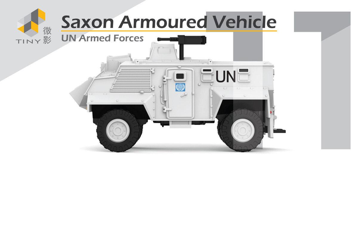 11 Saxon Armoured Vehicle