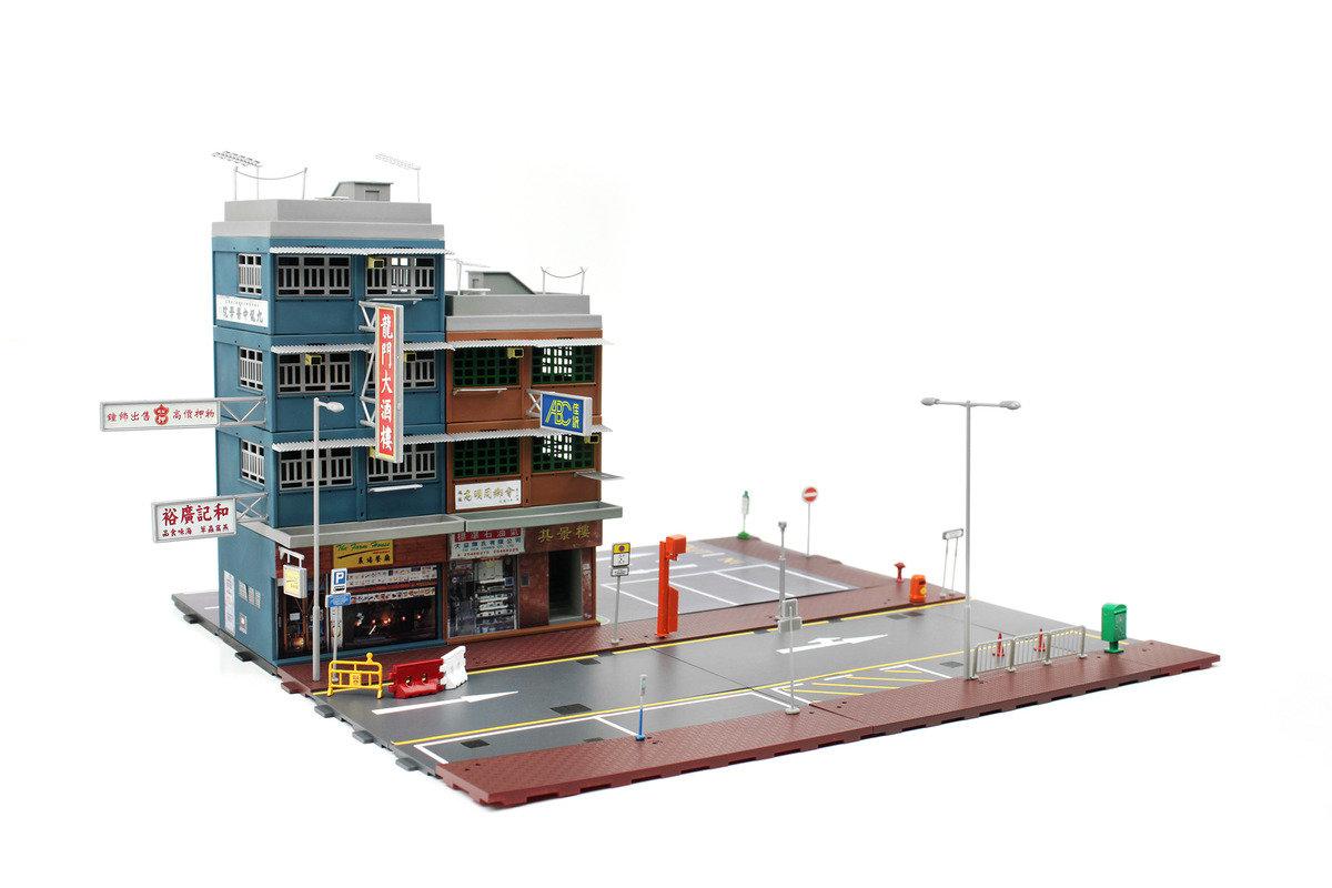 CITY BD3 唐樓模型套裝
