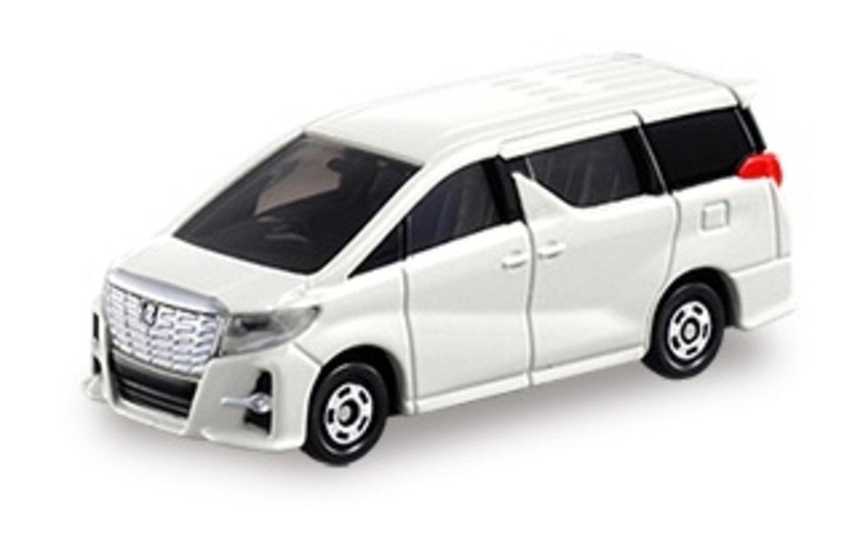 12 Toyota ALPHARD - White